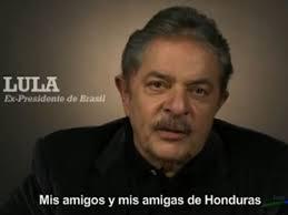 Veja abaixo o vídeo da mensagem de Lula ao povo hondurenho