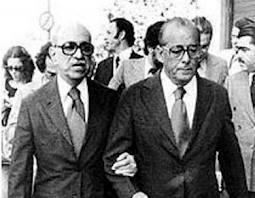Marinho da Globo e Ditador Figueiredo em dia de comemoração do Golpe Militar em 1981