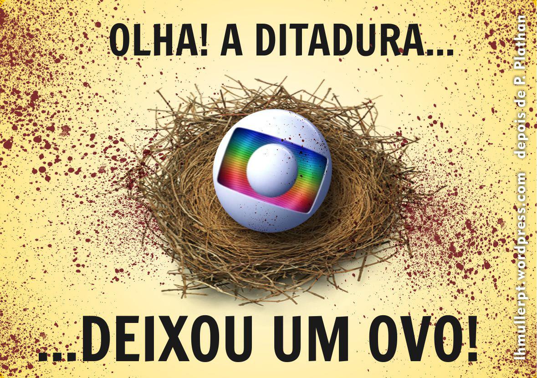 Resultado de imagem para TV Globo charges