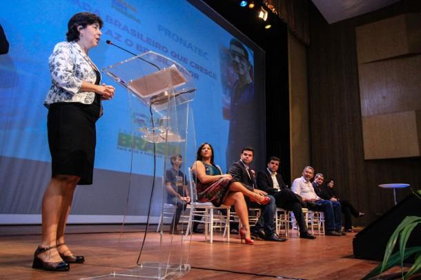 Formatura do Pronatec com a presença da Ministra do Desenvolvimento Social Tereza Campello Foto: Pei Fon/ Secom Maceió