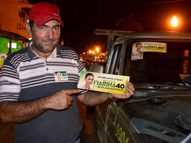 Assassino de Chico Mendes apóia Marina