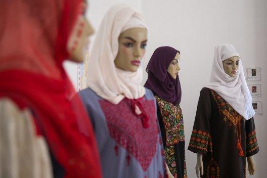 Mulheres palestinas