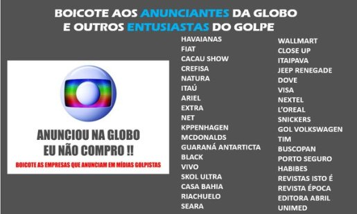 Boicote Globo