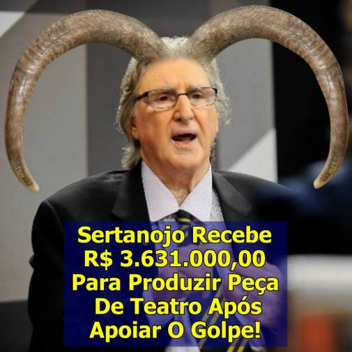 Sérgio Reis golpe