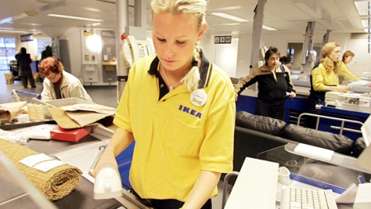 trabalhadora sueca