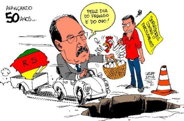 Charge: Latuff/Sul21