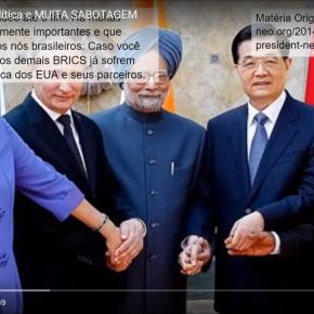 Vídeo:O Senado esta a serviço do império contra os BRICS e contra oBrasil