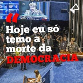 O discurso histórico de Dilma noSenado