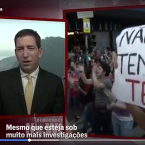 Greenwald fala ao mundo sobre as razões do golpe no Brasil (Vídeo do TheIntercept)