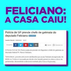 Polícia prende chefe de gabinete de Feliciano em flagrante e cercadeputado