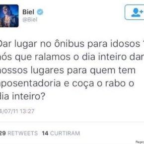 O passado misógino, racista e homofóbico de Biel no Twitter éASSUSTADOR