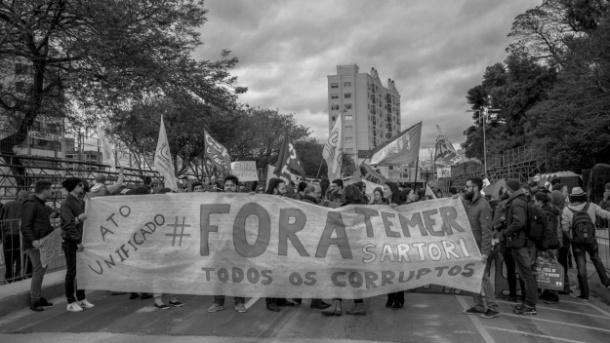 O Ato Unificado foi idealizado pelo Coletivo Feminista Maria, Vem Com as Outras! (Fotos: Erviton Quartieri Jr.)