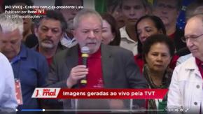 Vídeo: A Entrevista coletiva do Lula na íntegra, que a grande mídia brasileira não mostra mas que foi transmitida aomundo