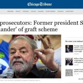Jornais estrangeiros destacam ausência de provas contra Lula e acusam MPF: objetivo é tirar ex-presidente das eleições de2018