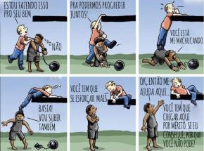 Meritocracia explicada em 6quadros