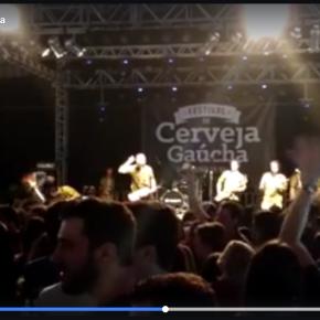 Vídeo: Festival de Cerveja Gaúcha em Santa Cruz do Sul também tem #ForaTemer, gritado por todos ospresentes
