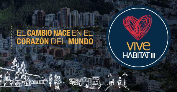 Conferência da ONU sobre Habitação foi realizada em Quito, de 17 a 20 de outubro.