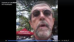 #OCUPAPRAÇADAMATRIZ contra o desmonte e a privatização do Estado e dos Bens Públicos(Vídeo)
