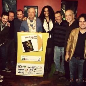 Em Montevidéu, músicos do Brasil, Uruguai e Cuba Homenageiam o líder cubano JoséMartí.