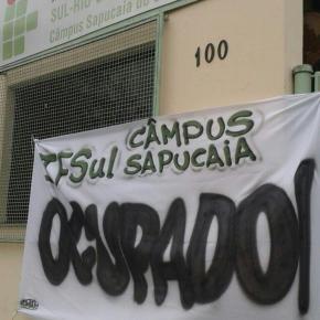 IF SUL Sapucaia é ocupado em defesa daEducação