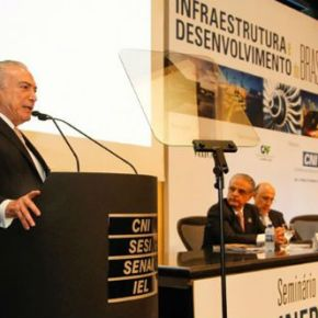 Na CNI, Temer pede paciência a empresários e defende o fim do BolsaFamília