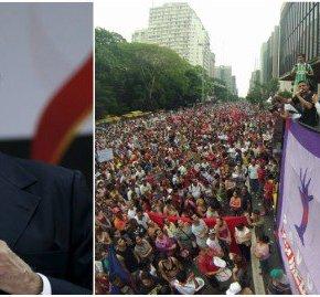 "Seeeeegura, Temer! 100 mil nas ruas de SP reavivam ""Fora Temer""(vídeo)"