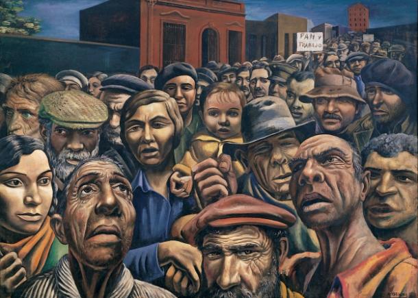 Antonio Berni – Manifestacion – 1934