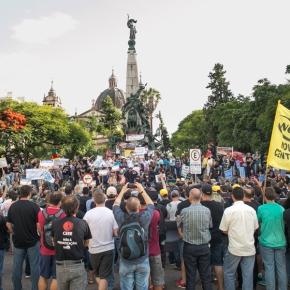 Audiência em Defesa Das Estatais Aconteceu na Praça em Frente a AssembléiaLegislativa