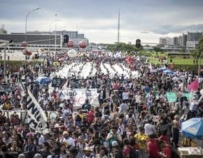 Atos em todo o país marcarão dia de protesto contra votação final da PEC55