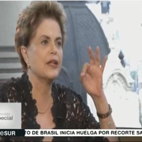 Em Entrevista a TeleSur,Dilma faz balanço de 2016 (Veja entrevistacompleta)