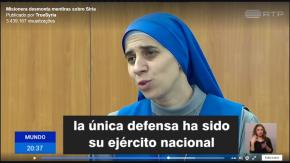 Em vídeo, missionária católica desmonta mentiras da mídia sobre a Síria (Assista.São 2minutos)