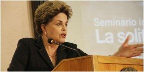 Dilma na Itália faz estragos no golpe de Temer;assista