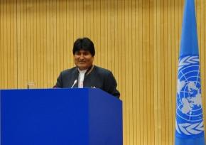 Bolívia ingressa no Conselho de Segurança da ONU para ser 'a voz dos povos domundo'