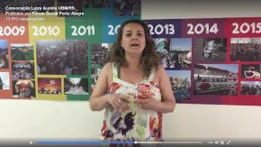 Vídeo: Mulheres Brasileiras convocam para o Fórum Social das Resistências em PortoAlegre