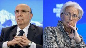 """Diretora do FMI passa pito em Meirelles e Temer. Querem """"ser mais realistas que orei""""."""