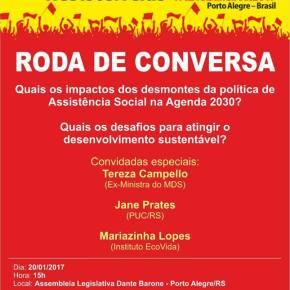 FÓRUM SOCIAL: Debate sobre Impacto do Desmonte das Políticas de Assistência Social para o povo e para asPrefeituras