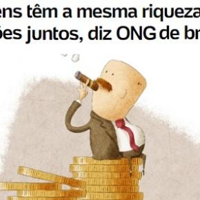 Seis por 100 milhões. A balança da concentração de renda noBrasil