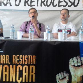 FÓRUM SOCIAL DAS RESISTÊNCIAS: Seminário do SINAIT mostra retrocesso e ataques aos Direitos Trabalhistas(Vídeo)
