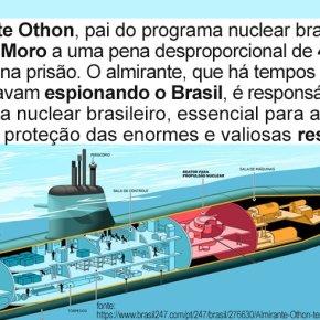 ALMIRANTE OTHON, PAI DO PROGRAMA NUCLEAR BRASILEIRO, TENTA SUICÍDIO APÓS SER CONDENADO PORMORO