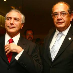 Vamos fingir que é normal a carona até Portugal do réu Temer para seu julgador Gilmar (Por EugênioAragão)