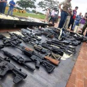 Bolívia investiga carregamento de armas provenientes dosEUA