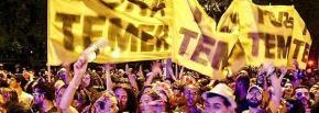 """""""Fora, Temer!"""" ganha o carnaval e presidente é tema demarchinhas"""