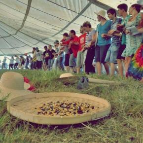 Antiga Fazenda Annoni recebe 12º Acampamento da Juventude da Romaria daTerra