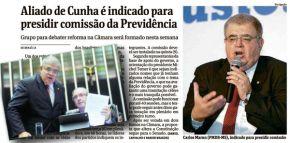 Tá tudo dominado: Aliado de Cunha comandará Reforma daPrevidência
