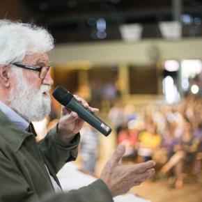 Leonardo Boff apoia luta de professores e diz que Marchezan foi autoritário eantidemocrático