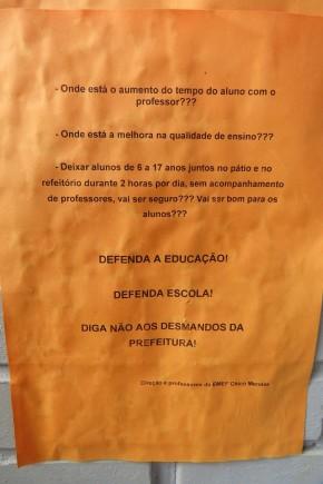 Porto Alegre: Familiares e professores afirmam que não aceitam alteração da prefeitura para asescolas