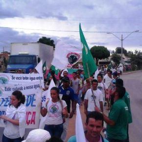 Em Jornada de Lutas, atingidos por barragens se mobilizam em todo oBrasil