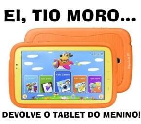 Um ano depois, PF ainda não devolveu tablet de neto de 4 anos do ex-presidenteLula