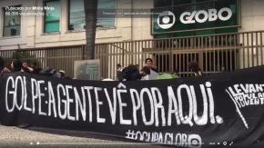31 de Março de Luta: Levante Popular da Juventude ocupa a Rede Globo no RJ #OcupaGlobo(Vídeo)