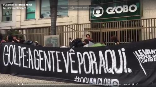 Ocupa Globo